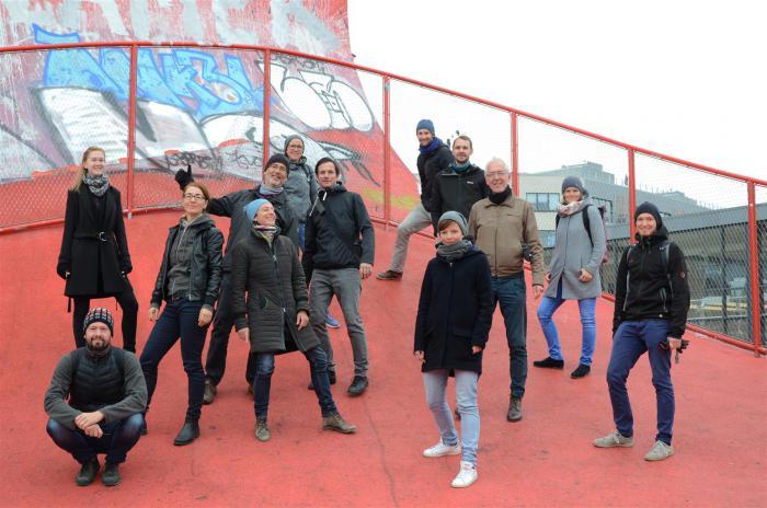 Gruppenfoto der Mitarbeiter